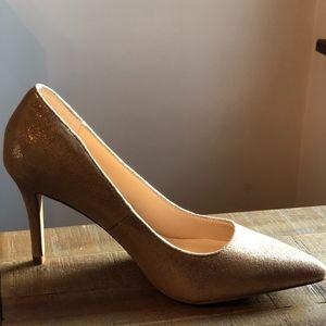Sole Society Gold Heel